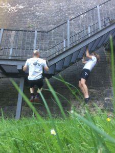 Reflex-Fitness-Selbstverteidigung