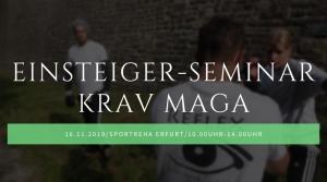 Seminar Krav Maga-Erfurt